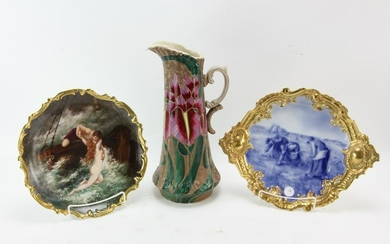 French Limoges Porcelain Chargers