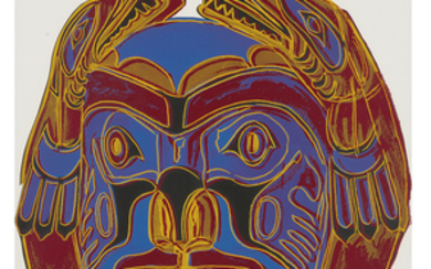 Andy Warhol - Andy Warhol: Northwest Coast Mask (from Cowboys and Indians)