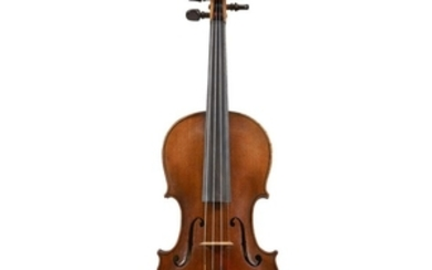 A German Violin, Early 20th Century Labeled: Made &...
