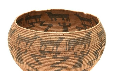 Native American Basket, Paiute Southern Great Basin.