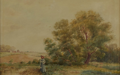 Robert Jenkins Onderdonk Watercolor
