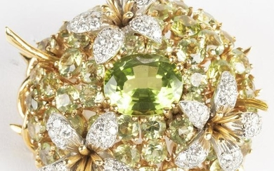 Schlumberger for Tiffany & Co. 18k Gold, Diamond and