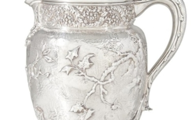 Sterling silver pitcher Tiffany & Co., New York, NY,...