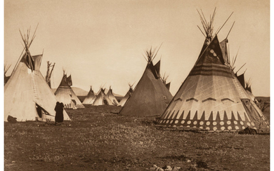 Edward Sheriff Curtis (1868-1952), The North American Indian, Portfolio 6 (Complete with 36 works) (1900-1910)