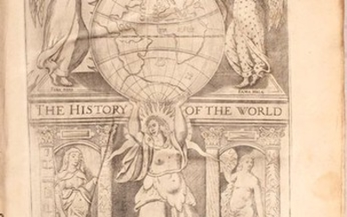 """""""The History of the World, in Five Books..."""", Raleigh, Walter (Sir)"""