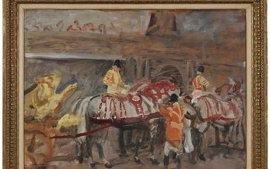 Sir Alfred James Munnings, P.R.A., R.W.S.