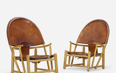 Werther Toffoloni and Piero Palange, Hoop lounge chairs pair