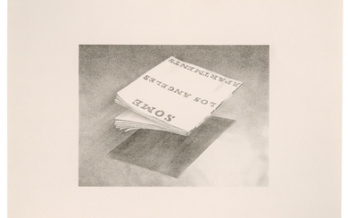 Ed Ruscha - Ed Ruscha: Some Los Angeles Apartments (from Book Covers series)