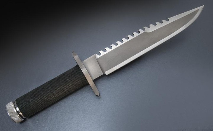 Jimmy Lile First Blood #84 knife.