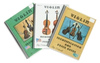 Ehrhardt, Roy - Violin Identification and Price Guide, three books, 1977.