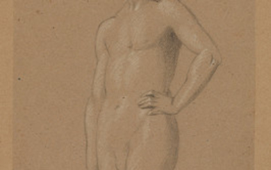 ENGLISH SCHOOL, 19TH CENTURY Two drawings. Figure...