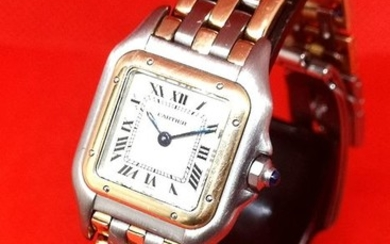 Cartier - Panthere 3 Row 18k Gold - 12 Month Warranty - Women - 1980-1989