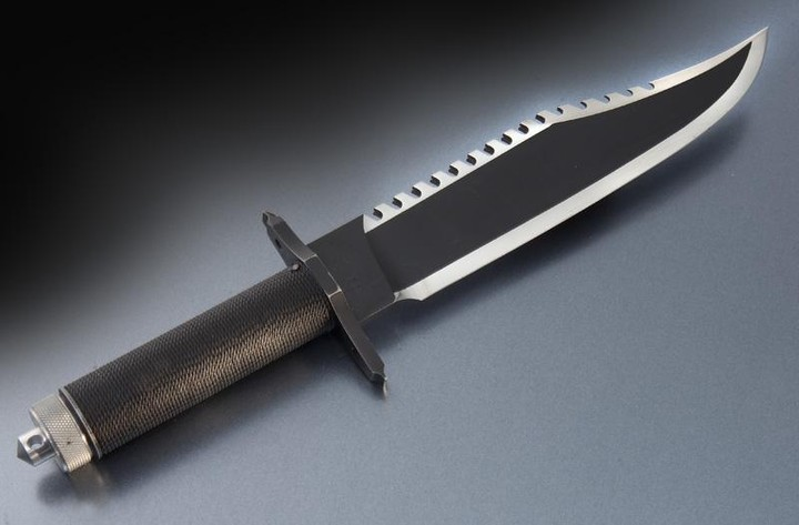 Jimmy Lile Rambo The Mission #81 knife,