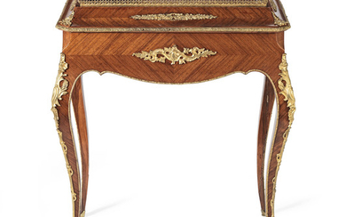 A French late 19th century kingwood and gilt metal mounted Jardinière