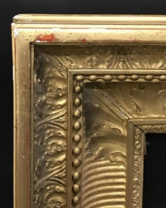 19th Century French School. A Gilt Composition Frame,