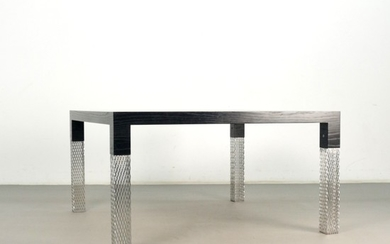 Michele Barro Savonuzzi, dining table, model Datong for Cappellini, Italy