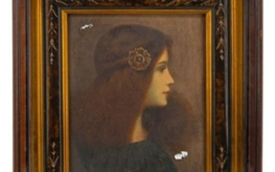 An Aesthetic Portrait, Set in a Period Frame H
