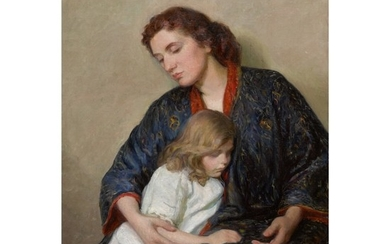 LILLA CABOT PERRY | MOTHER AND CHILD