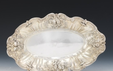 """Reed & Barton Sterling Silver Pastry Boat, """"Francis I"""" Pattern"""