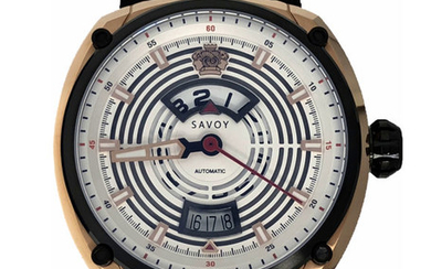"""Savoy - Epic Continuous Hour Limited Edition White Dial Swiss Made- F4101H.01D.RB01 """"NO RESERVE PRICE"""" - Men - 2011-present"""