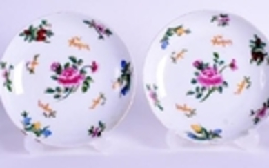 A PAIR OF 19TH CENTURY RUSSIAN IMPERIAL PORCELAIN CUPS