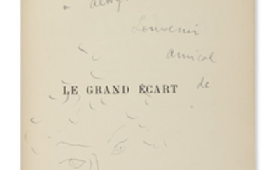 COCTEAU, JEAN. Le Grand Ecart. Illustrated by...