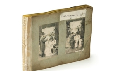 EROTIC ALBUM | ALBUM OF EROTIC IMAGES OF THE HUMAN FORM FOR USE BY ARTISTS. [PARIS, EARLY 20TH CENTURY]