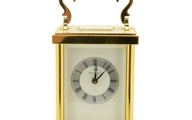 Tiffany and Co. Carriage Clock.