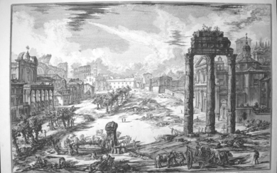 Piranesi, Giovanni: VIEW OF CAMPO VACCINO, Year 1772