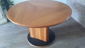 Lot Art Per Hansbaek For Skovby Fold Out Dining Table Model Sm32