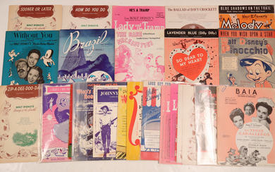 Disney Sheet Music Collection 108821