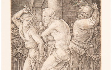 Albrecht Dürer (1471-1528), The Flagellation, from the The Engraved Passion (1512)