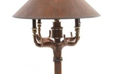 Three Western Style Table Lamps