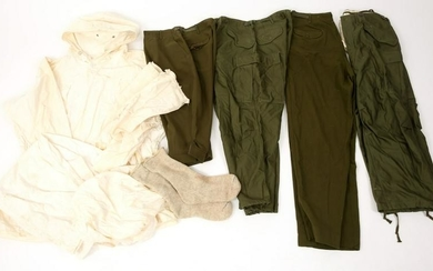 KOREAN WAR US ARMY WINTER FIELD CLOTHING LOT