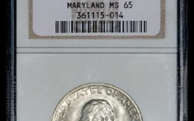 A United States 1934 Maryland Commemorative 50c Coin