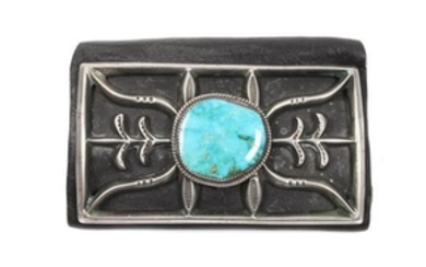 Southwestern Silver and Turquoise Ketoh