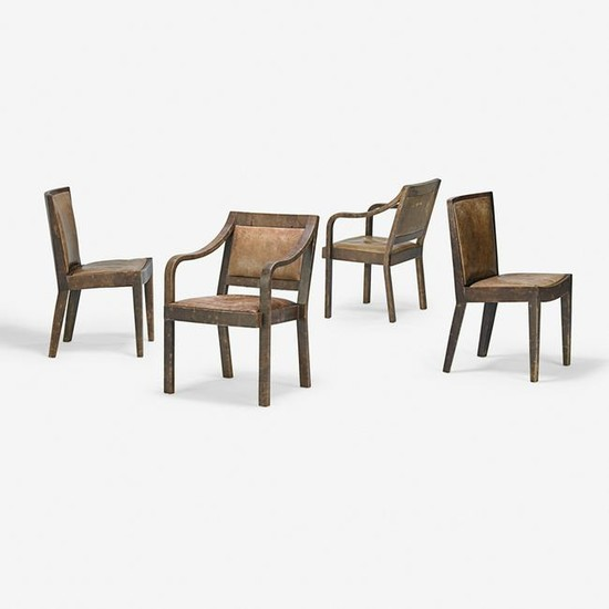 KARL SPRINGER Four chairs