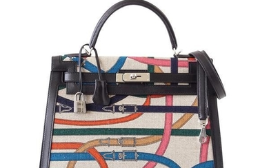 Hermes Kelly 32 Bag Sellier Limited Edition Cavalcadour
