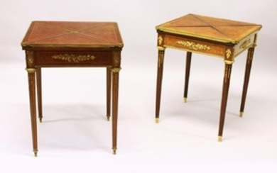 ATTRIBUTED TO FRANCOIS LINKE, A NEAR PAIR OF LATE 19TH