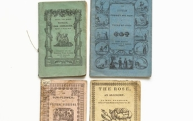 Chapbooks, American, 19th Century, Approximately Twenty.