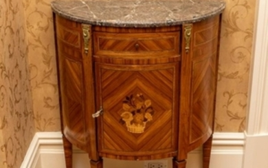 Diminutive French Marquetry Commode
