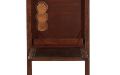 Late Classical fall-front writing desk