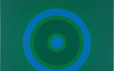 Kenneth Noland, Mysteries: To Blue