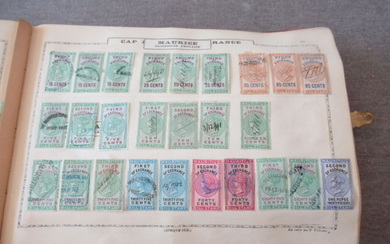 World - Collection of fiscal stamps including English colonies