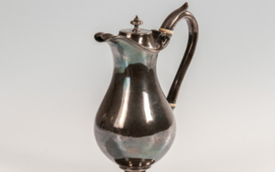 American Coin Silver Ewer