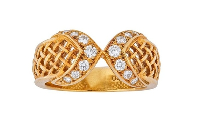 A diamond ring, by Christian Dior