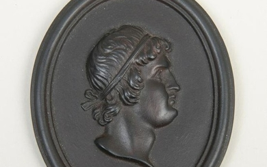 Wedgwood Black Basalt Portrait of Thrasybulus