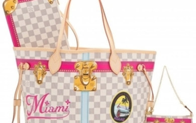 16068: Louis Vuitton Set of Two: Limited Edition Miami