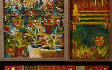 "Karen Foret (Louisiana), ""Greenhouse at the Abbey,"""