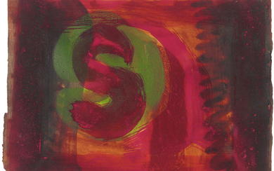 HOWARD HODGKIN (1932-2017), Red Listening Ear
